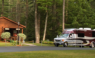 Reserve a Lake George Campsite at Ledgeview RV Park Office