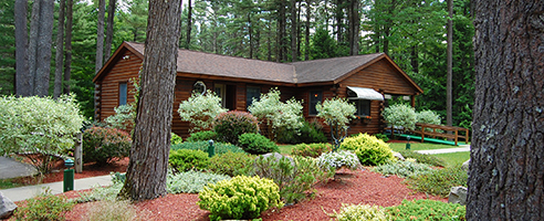 Ledgeview RV Park Office in Lake George NY