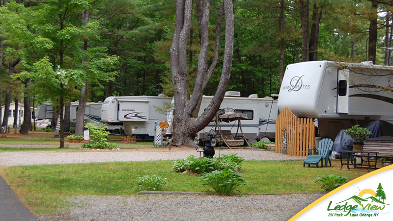 Lake George Rv Camping Ledgeview Rv Park Campgrounds