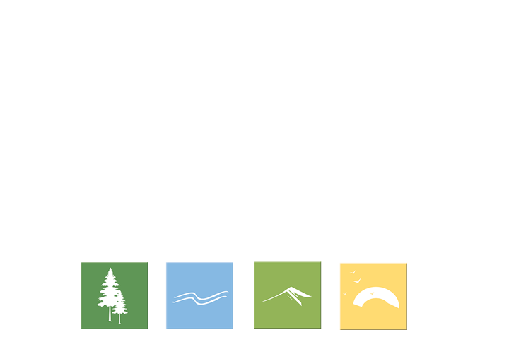 Ledgeview RV Park - Logo Color Blocks